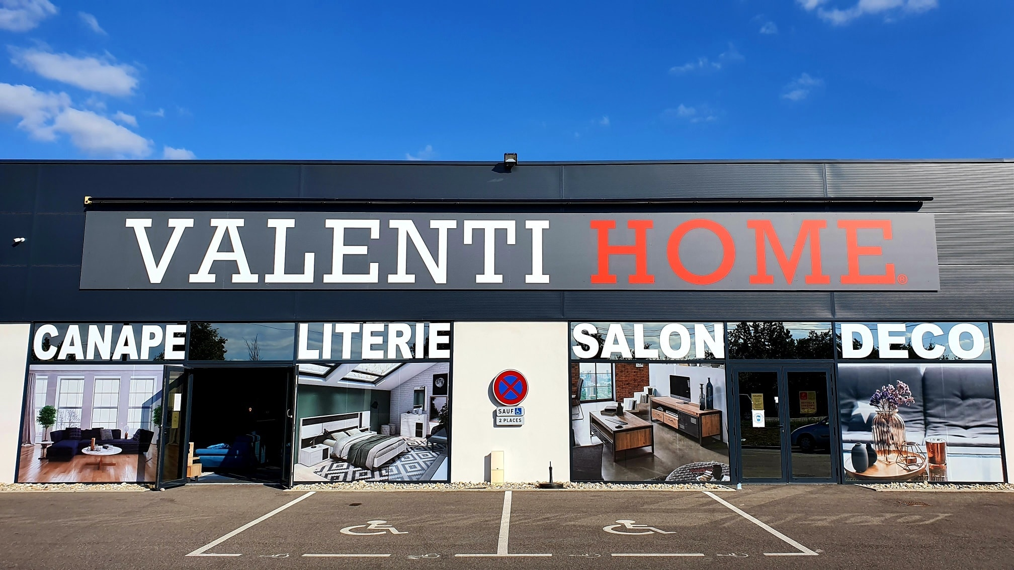 Valenti Home, magasin de literie, meubles et canapés